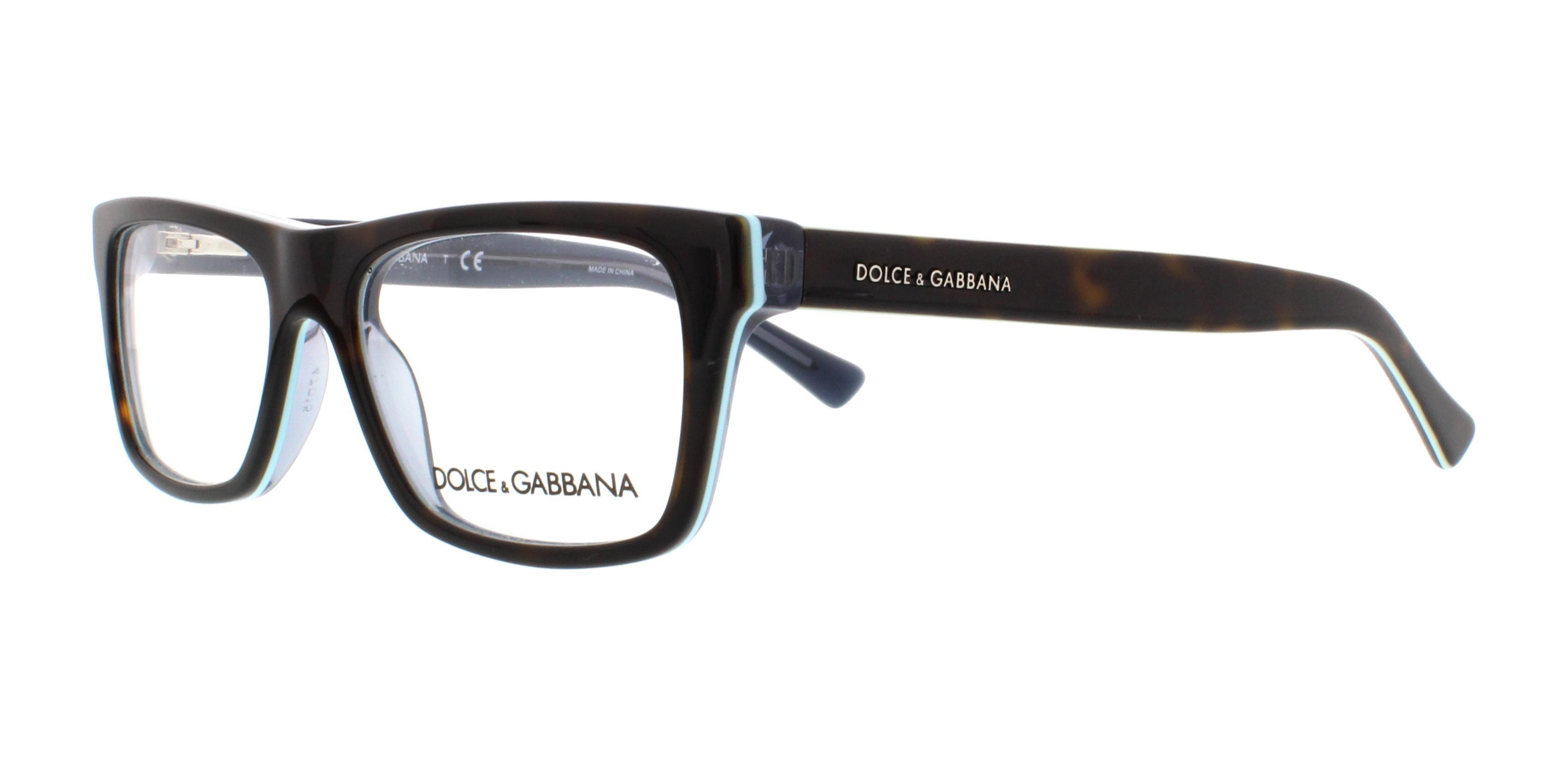 2867 havana on petroleum - Dolce And Gabbana Glasses Frames