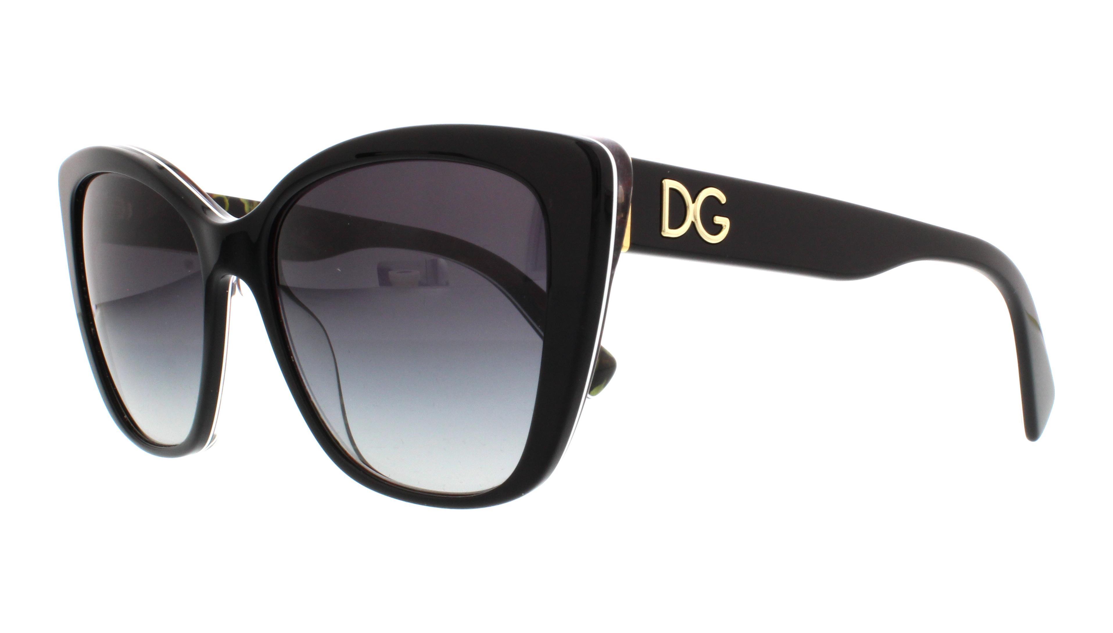 29408g black on printing roses - Dolce And Gabbana Frames