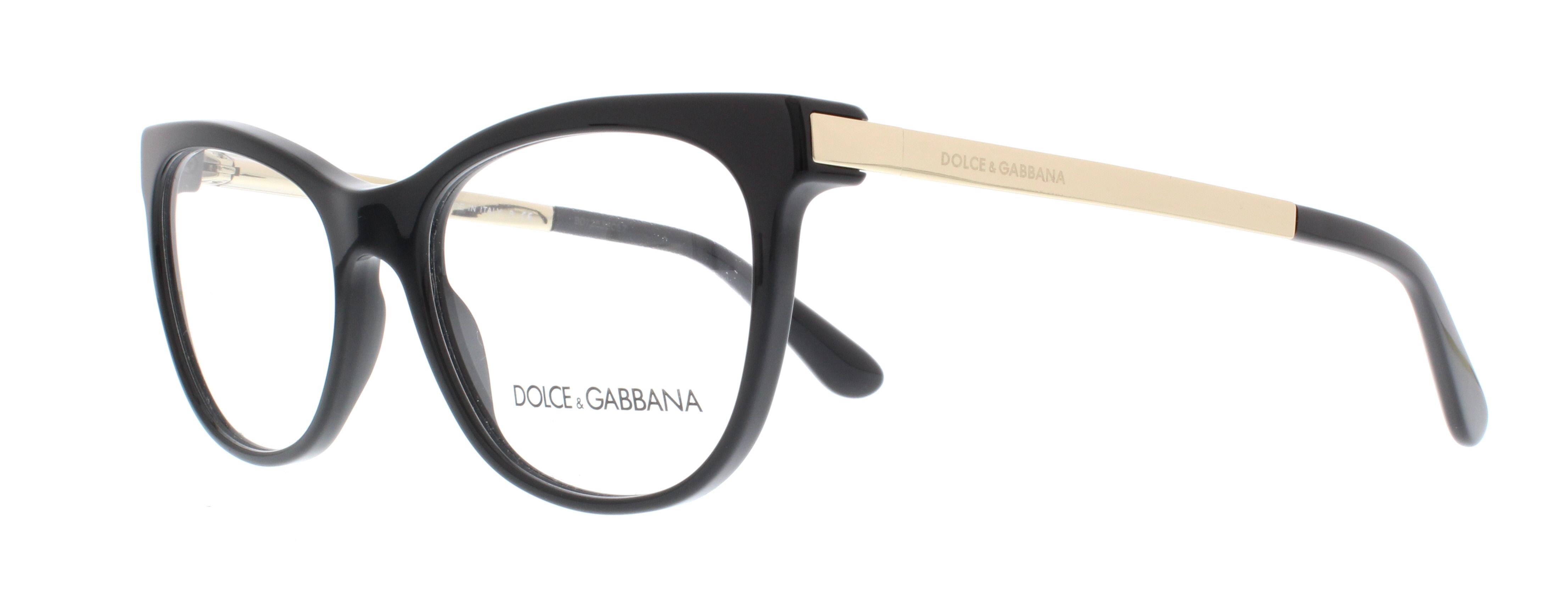 501 black - Dolce And Gabbana Frames