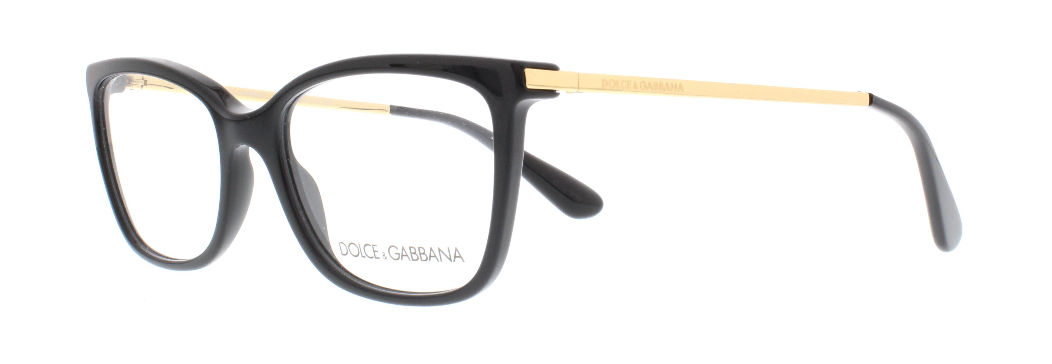 501 black - Dolce And Gabbana Glasses Frames