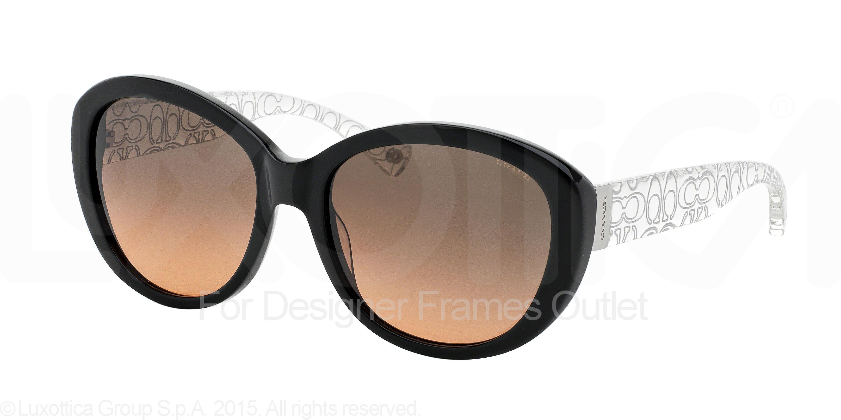 Designer frames outlet coach hc8106 515195 black crystal jeuxipadfo Gallery