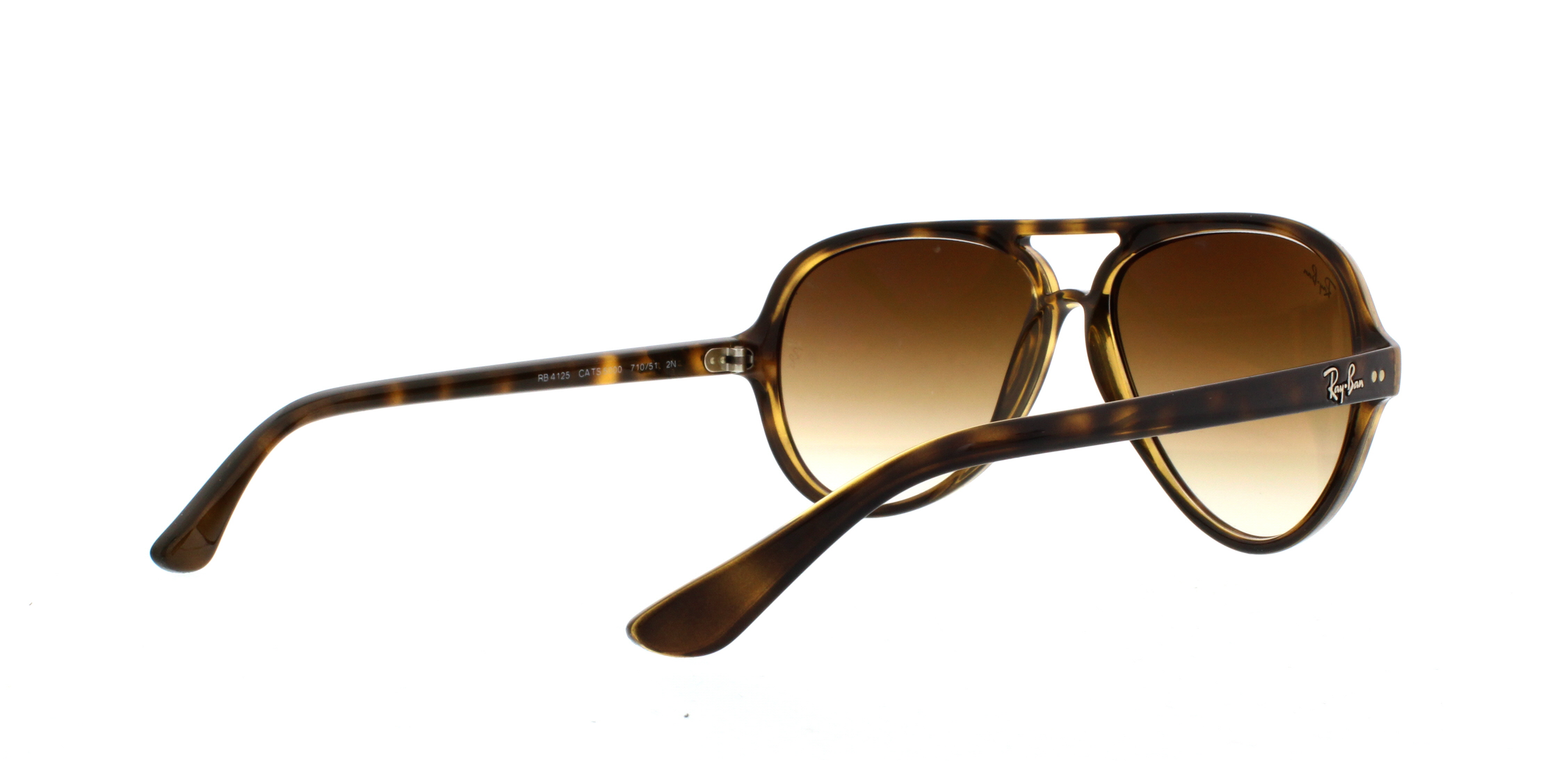 c24c14c51361d Ray Ban 4125 Sunglasses Rb4125 Brown 710 51 Cats 5000