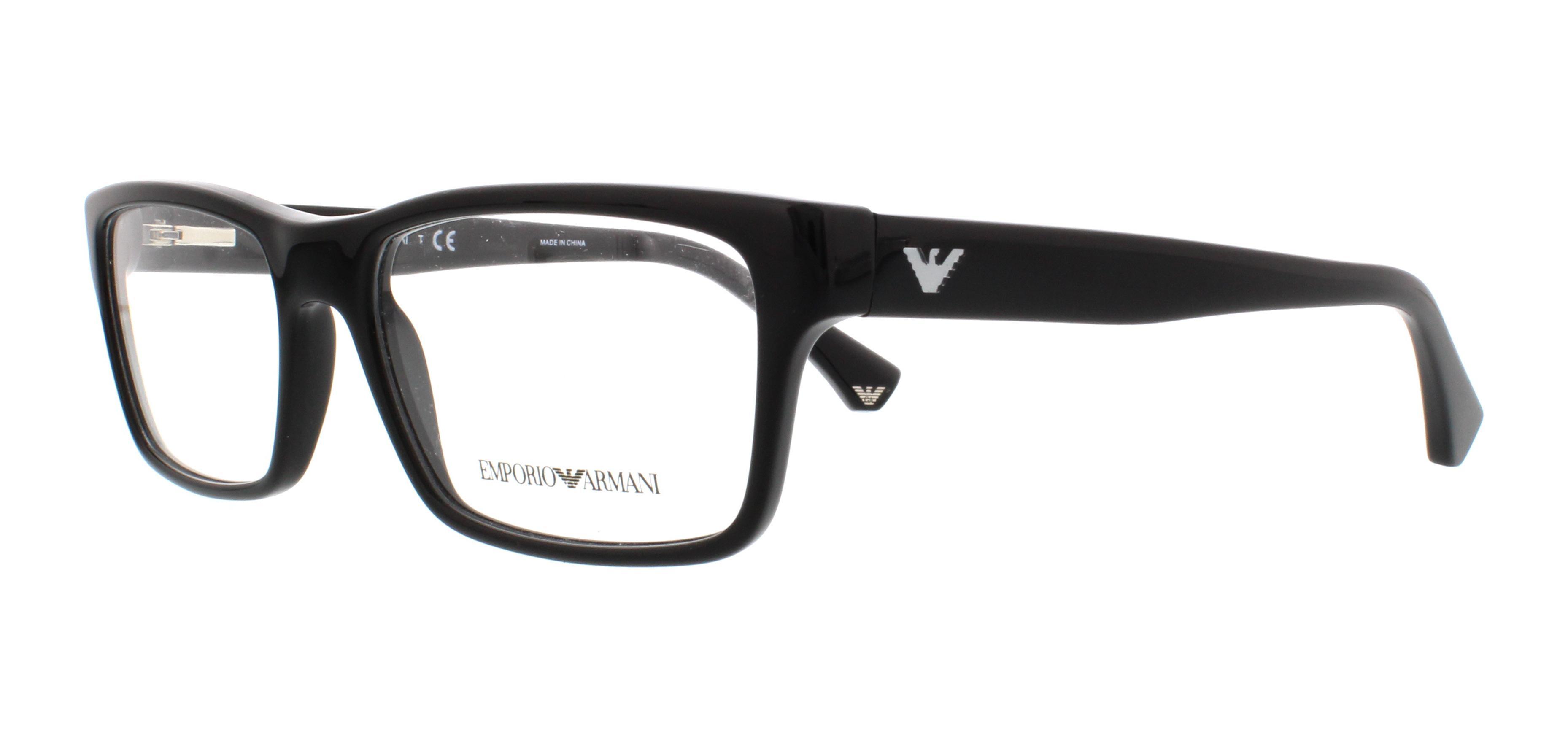2647aa5404b Emporio Armani Eyeglasses Men. Designer Frames Outlet.