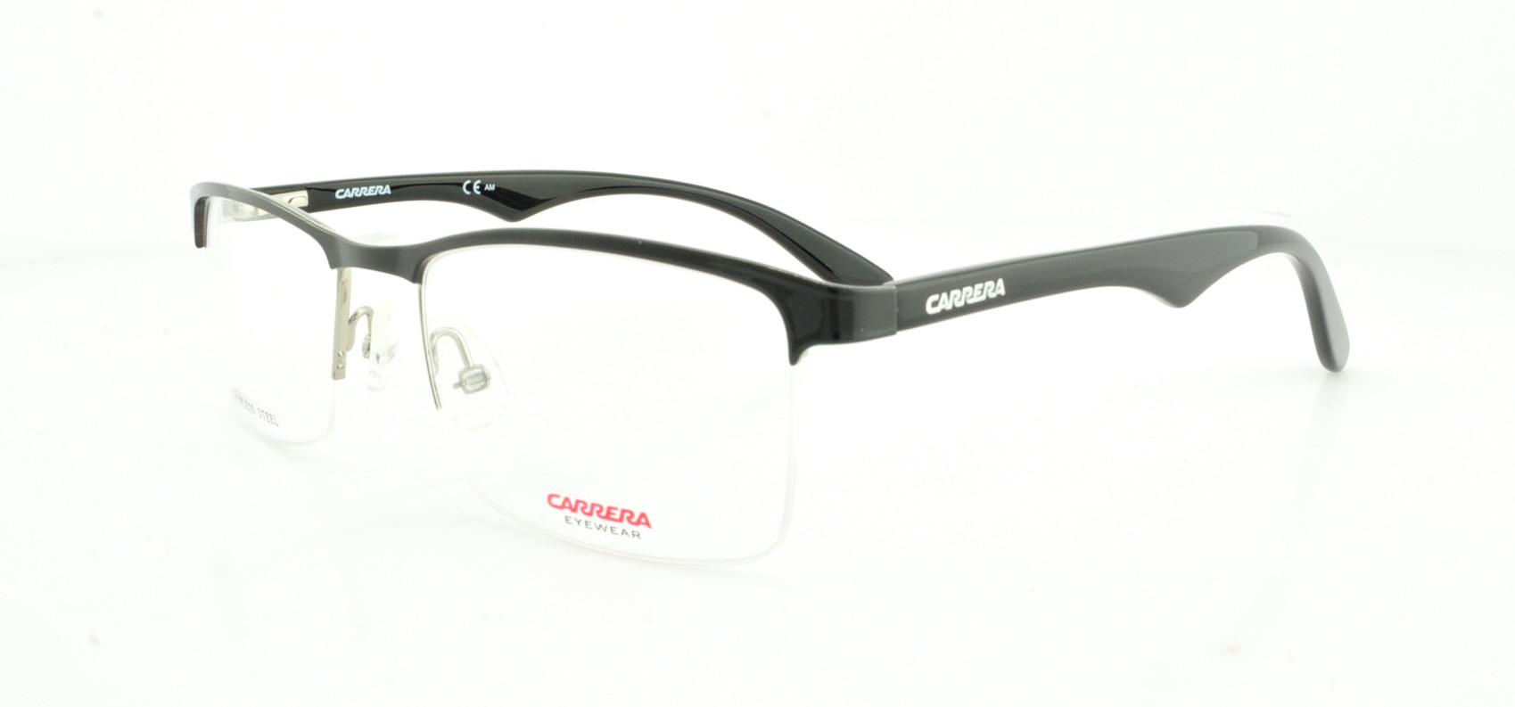 Carrera 6623 Eyeglasses-07A1 Black Ruthenium 54mm