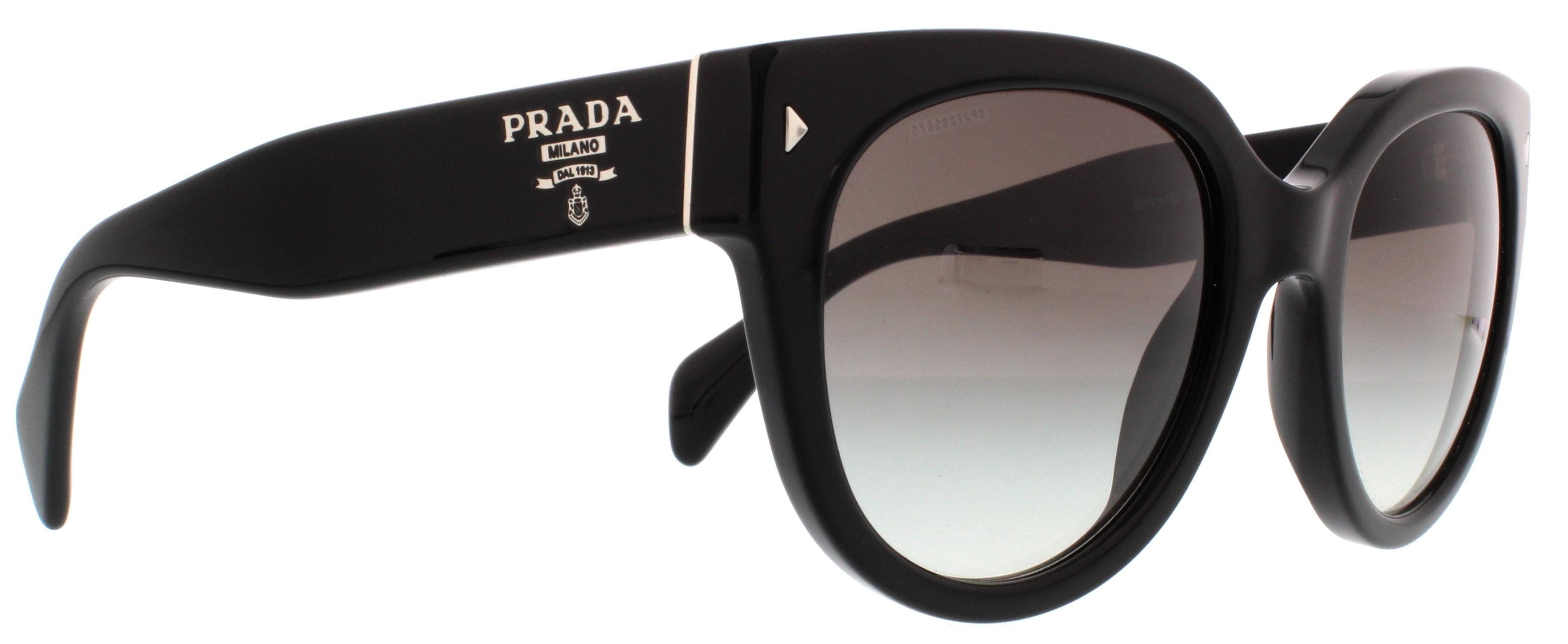 7aba60ac90106 official prada prada pr 17os shiny black cat eye brown gradient sunglasses  b3fa8 1864f  italy picture of prada sunglasses pr17os swing 29f9c 61655