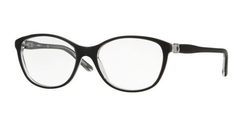 C562 Black On Opaline Transparent