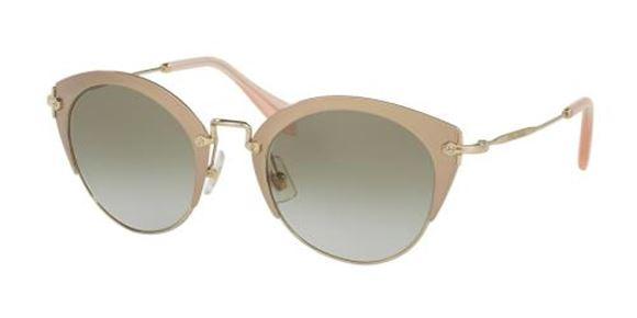 Miu Miu Sunglasses Gold Mirrored Women/'s MU53RS VAF-1C0