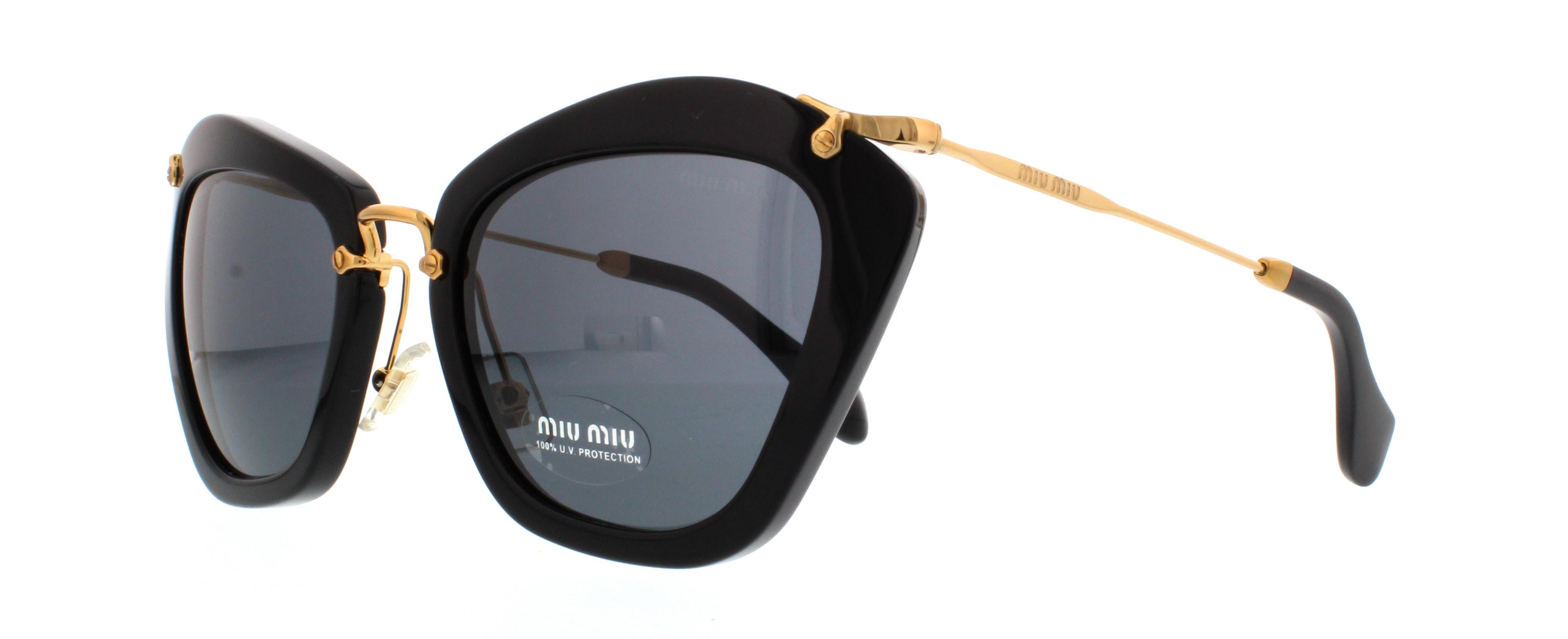 af5ee7b2985 Designer Frames Outlet. Miu Miu MU10NS Noir