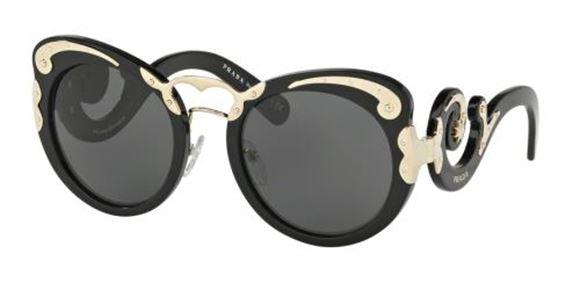 182547d7c3e ... glassmania glasses frame spectacles ita glasses glasses black 81580  2b81b  shopping picture of prada sunglasses pr07ts e43a2 ec309