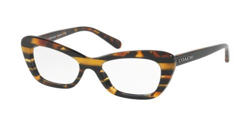 5440 Black Amber Glitter Varsity Stripe