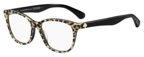 0INA Leopard Print Black Black