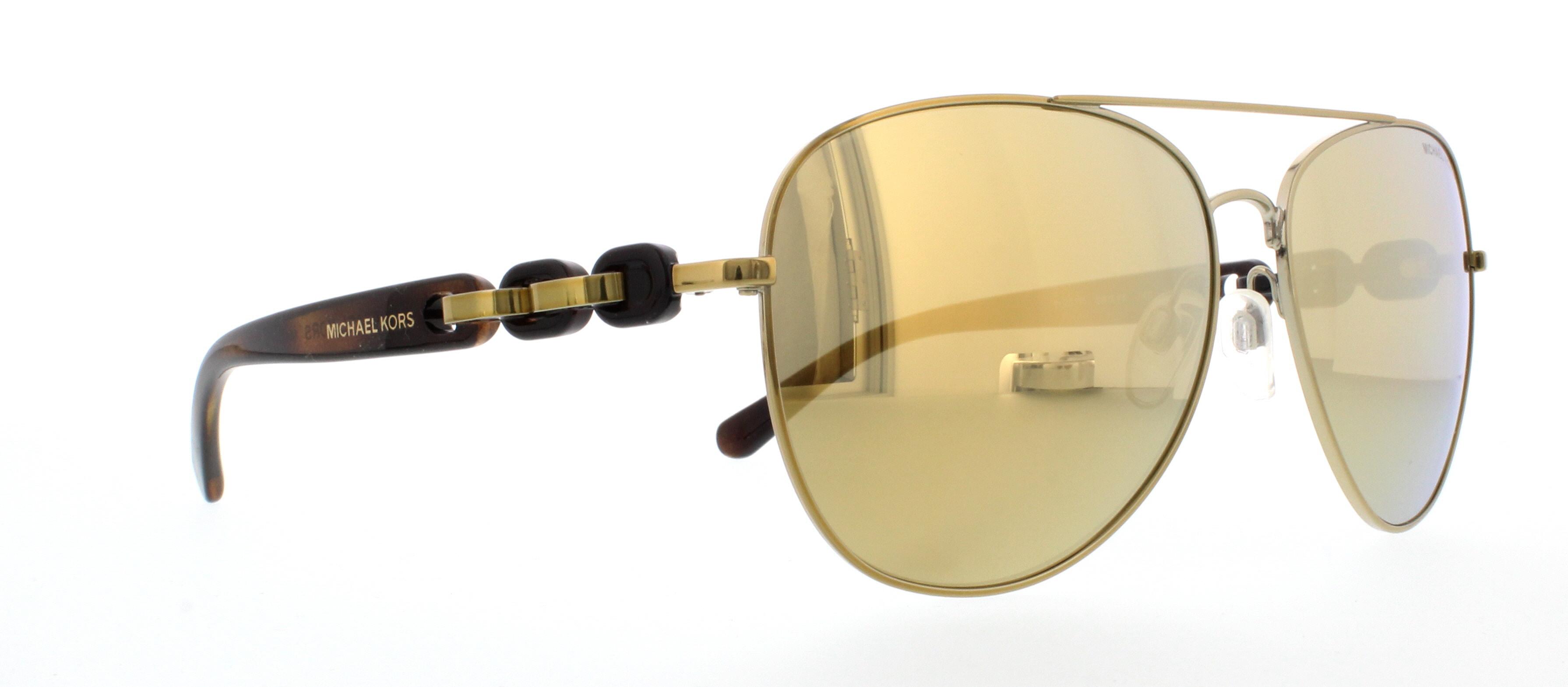 Michael Kors Pandora Sonnenbrille Gold 11297P 58mm P1HUSe