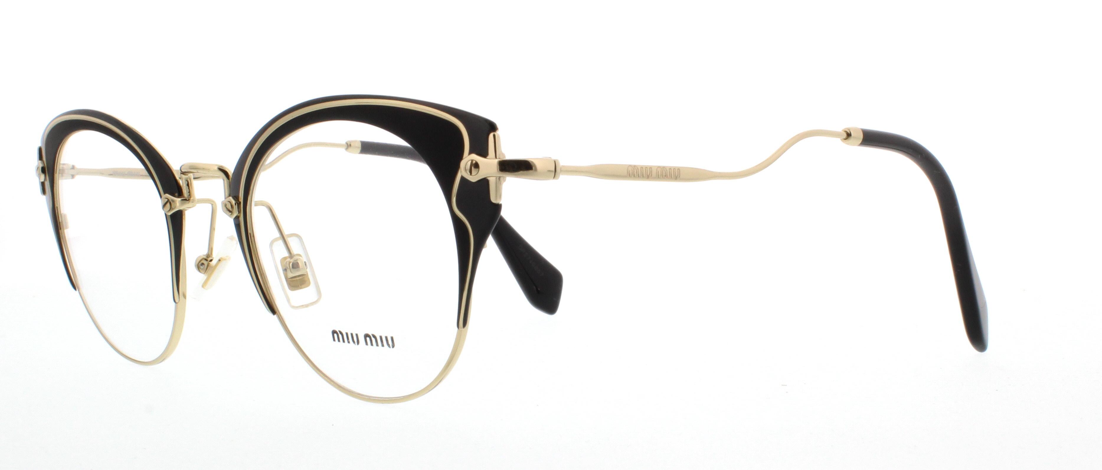 9e6ee3e5065 Miu Miu Mu 03qva Eyeglasses