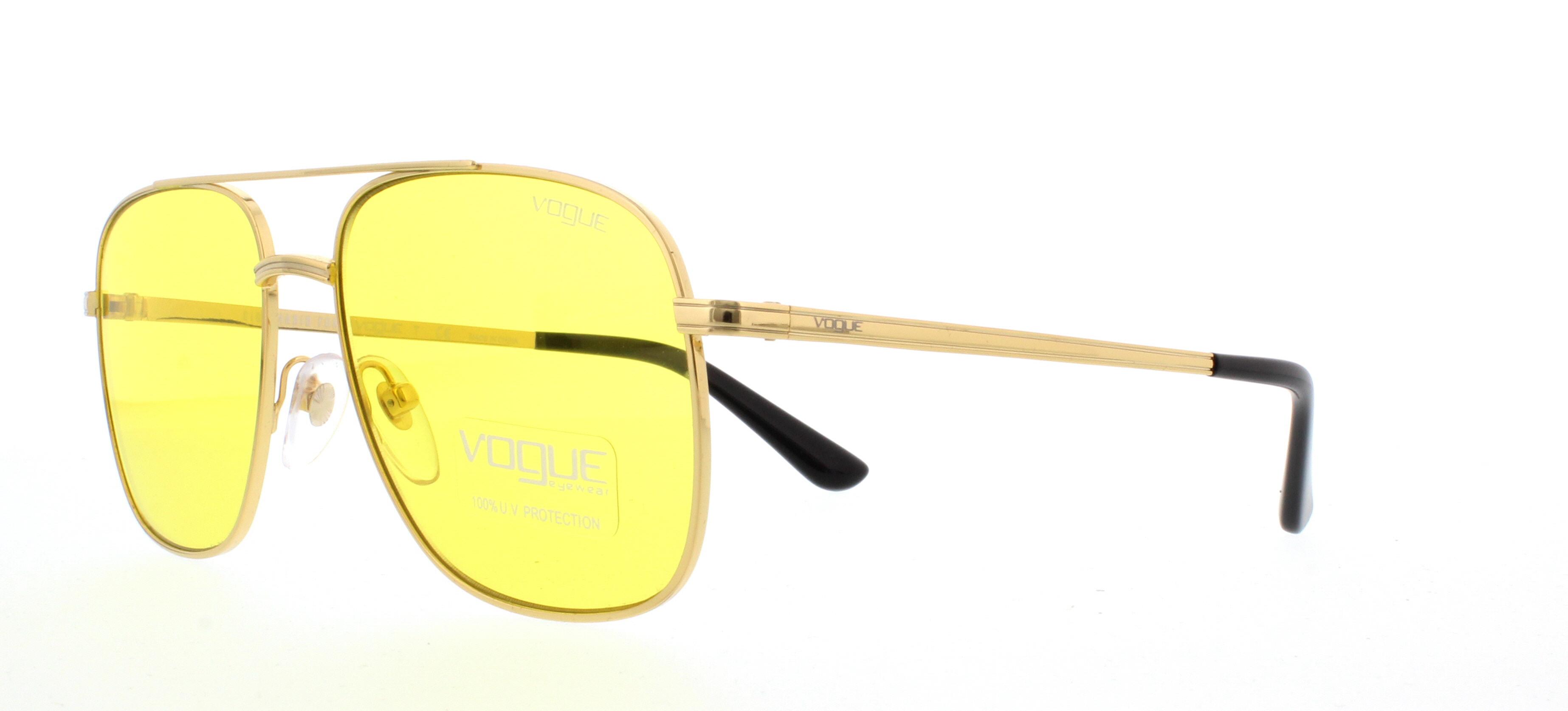 Vogue VO4083S Sonnenbrille Gold 280/7 55mm Hlp0K