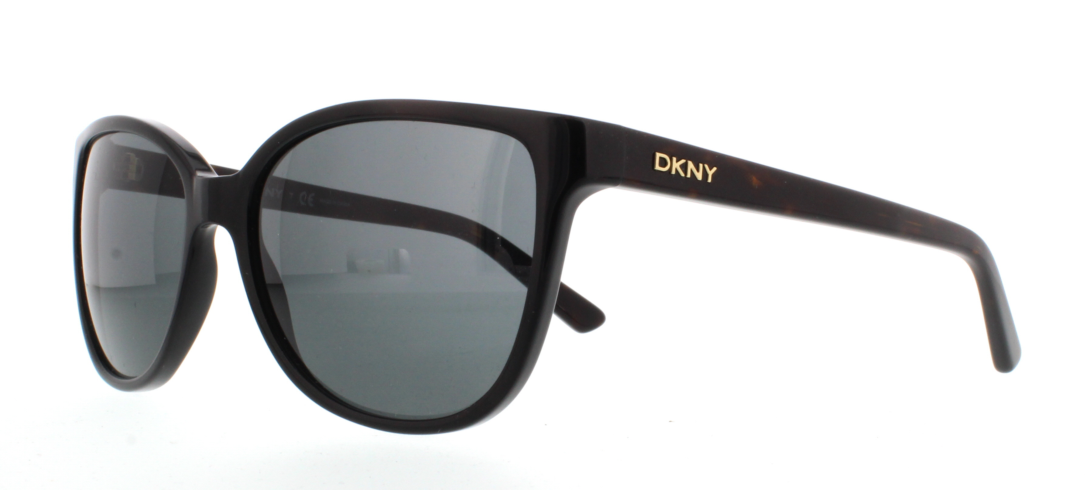 DKNY DY4129 Sonnenbrille Schwarz und Tortoise 300187 57mm B1Ecqt