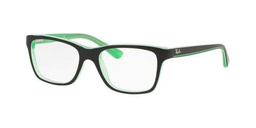 3764 Transparent Green On Top Black