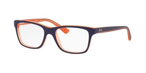 3762 Transparent Orange On Top Blue
