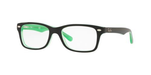 3764 Green Transparent On Top Black