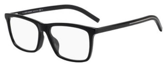 25a1674c0ab Frames Outlet Dior Homme Blacktie 261f. Gles Frames Dior Homme Cd Eyegles  Black X Silver Crd Tie 61 Deq Brands Men S