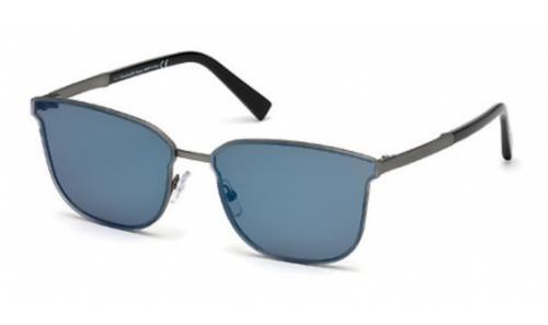 09X Matte Grey/Blue Mirror
