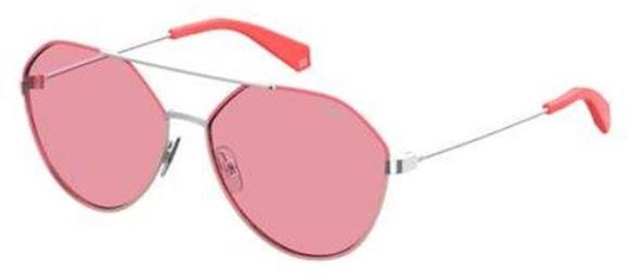Polaroid PLD 6059//F//S Unisex Aviator Sunglasses 61mm