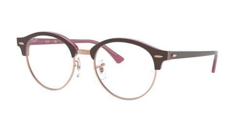5886 Top Brown On Opal Pink