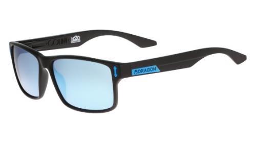 455 Matte Black/Ll Sky Blue Polar