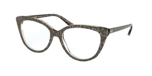 3892 Black Gunmetal Leopard