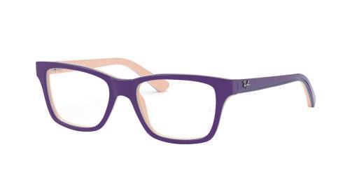 3818 Top Violet On Pink/Blue