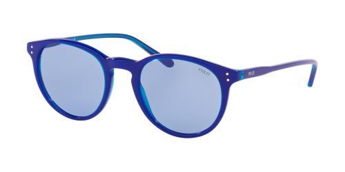 587176 Transparent Electric Blue