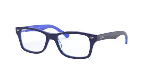 3839 Top Opal Blue/Transp Light Blu