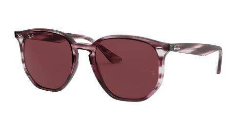 643175 Striped Bordeaux Havana